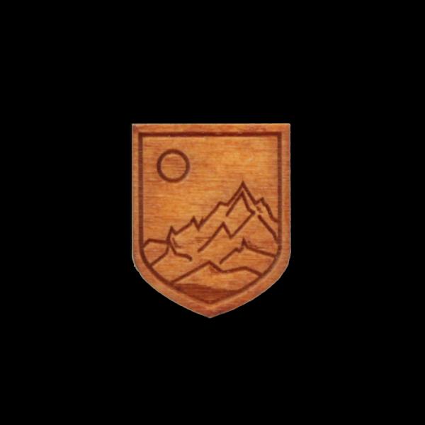 Wappen Berge Hemd Grafik