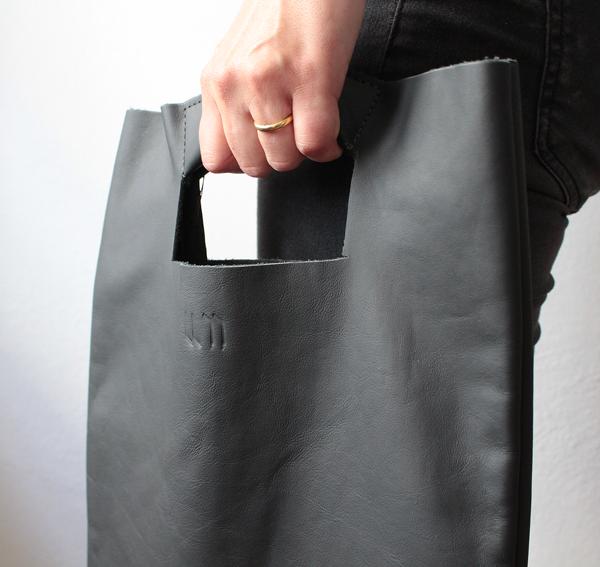 Handtasche, Daybag, Ledertasche Whitemonkey